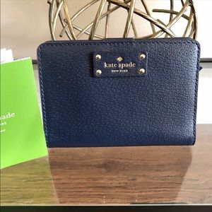 NWT Kate Spade Snap Wallet
